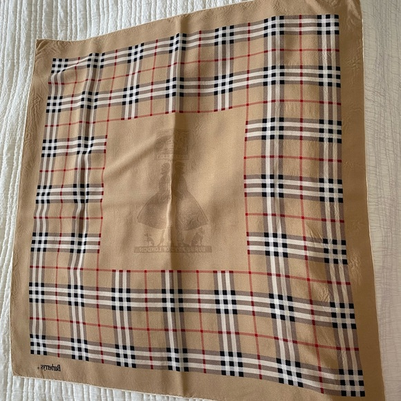 Burberry Silk Scarf AUTHENTIC